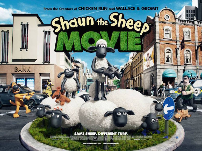 New Movie Poster Arrives in Cinemas   Shaun the Sheep