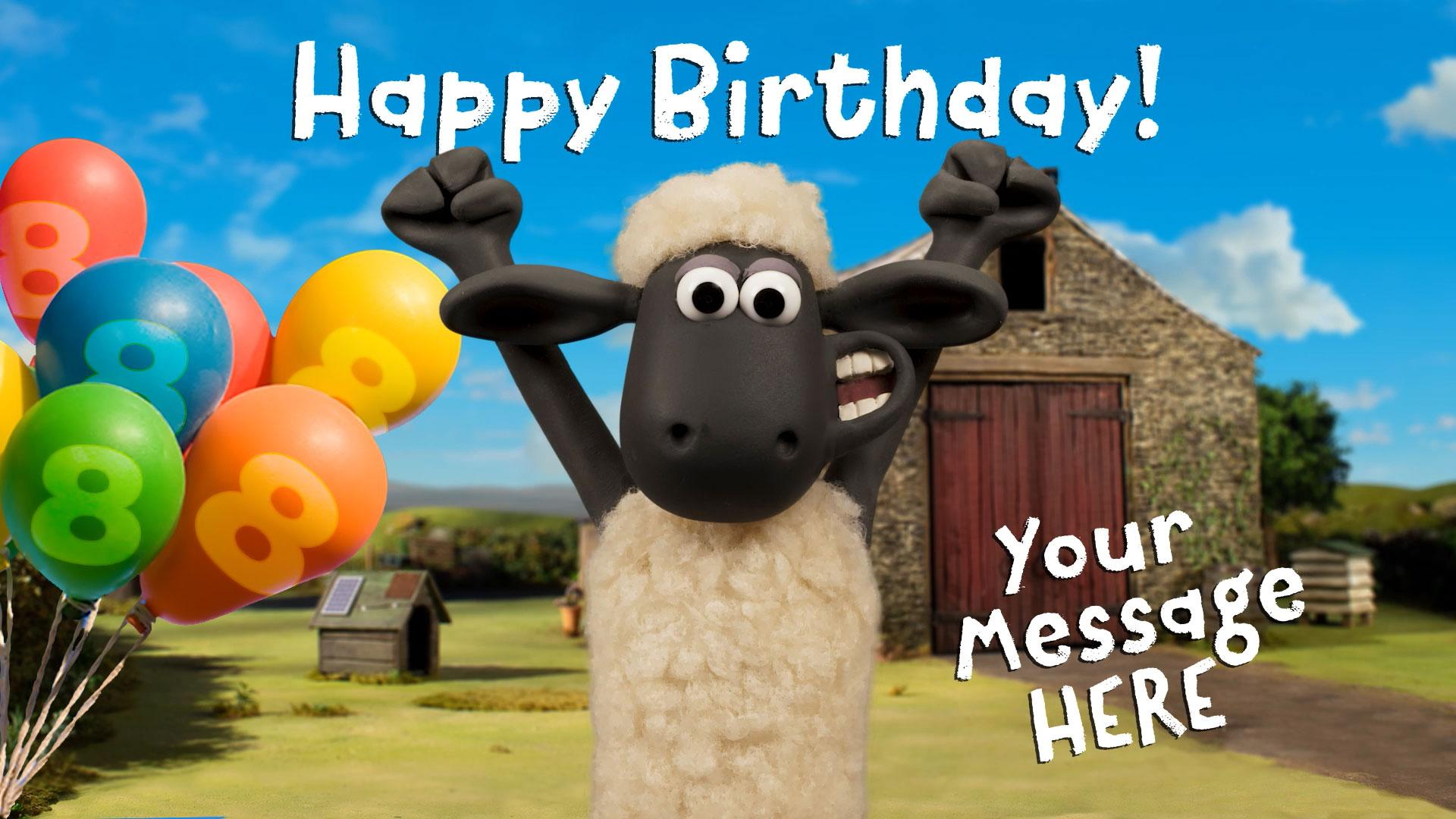 Send a Shaun Birthday Video Message!