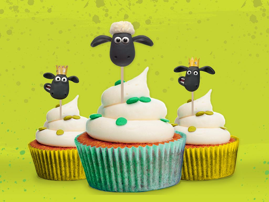 Shaun Party Pack: Cupcake Toppers
