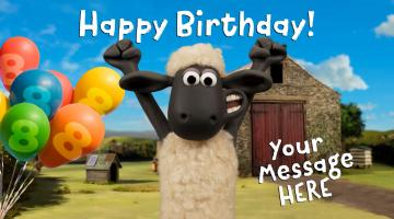 Send a Personalised Birthday Message