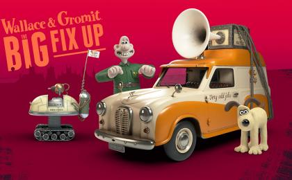 Join Wallace & Gromit in The Big Fix Up!