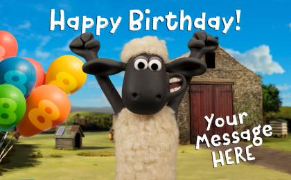 Create Your Own Shaun the Sheep