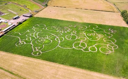 Giant Farmageddon Maze Revealed at